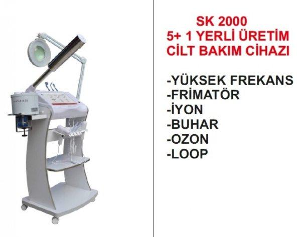 CİLT BAKIM CİHAZI SK 2000 5+1 YERLİ ÜRETİM