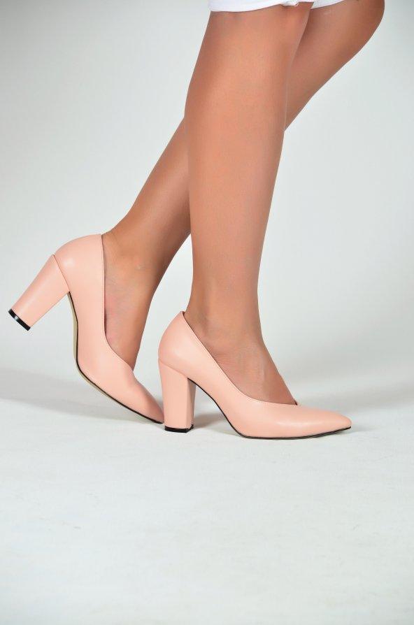 Kalın Topuklu Ayakkabı-AS5045