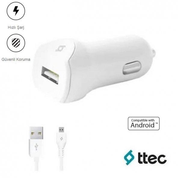 Ttec SpeedCharger Android İçin 2.1A Araç İçi Şarj Cihazı - 2CKS01