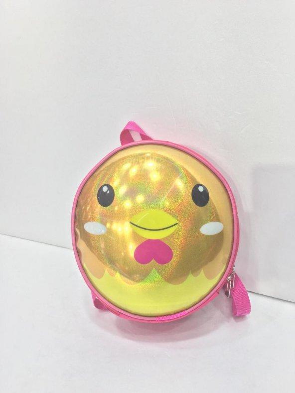 Haeja | Sevimli Civciv Sarı Çocuk Sırt Çantası