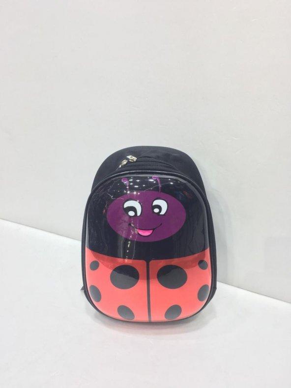 Haeja | Uğur Böceği Kırmızı Kız Çocuk Sırt Çantası