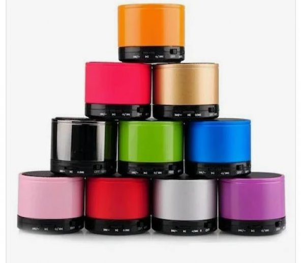 Mini Speaker Bluetooth Ses Bombası Ses Topu Usb Aux Hoparlör ŞARJ