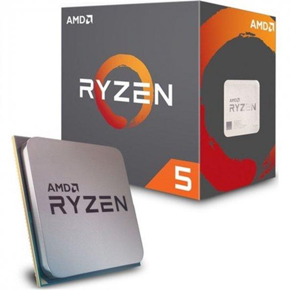 Amd Ryzen 5 2600 3.9GHz AM4 6C/12T 65W 19MB İşlemci Cpu
