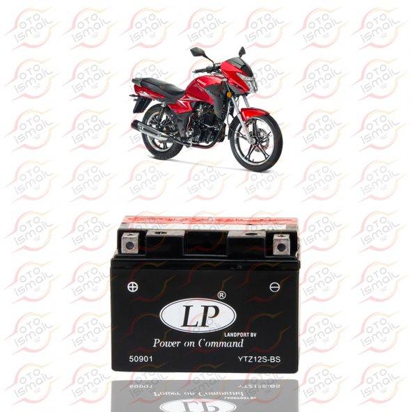 YTZ12S-BS LP 12V 9 AMPER MOTOSİKLET AKÜSÜ