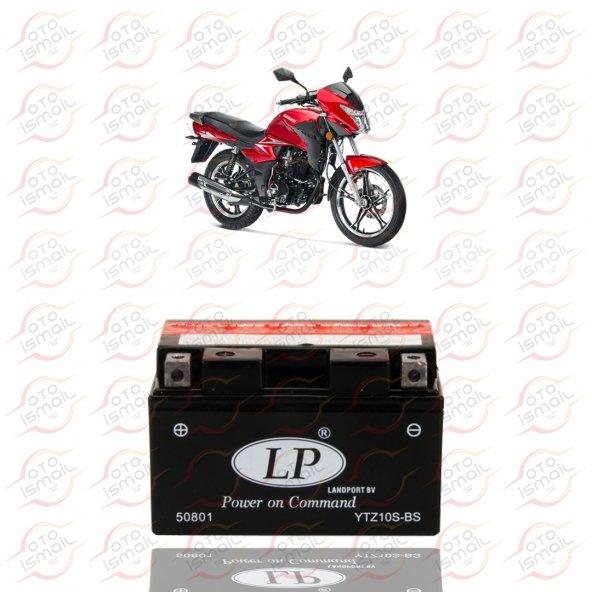 YTZ10S-BS LP 12V 8 AMPER MOTOSİKLET AKÜSÜ