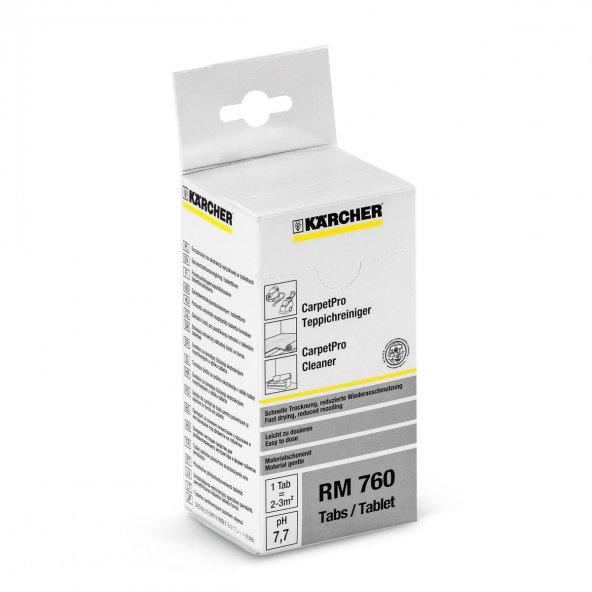 Karcher CarpetPro Temizleyici Tablet RM 760