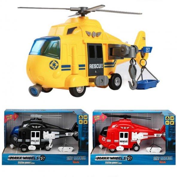 1:16 Sürtmeli Helikopter