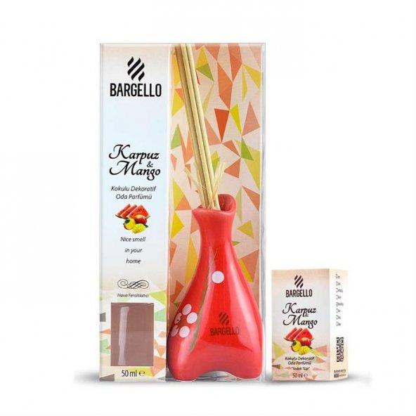 Bargello Seramik Dekoratif Oda Parfümü Karpuz-Mango