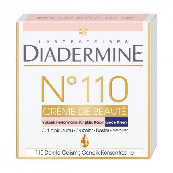 Diadermine No 110 Gece Kremi 50 ml Kırışık Karşıtı 30 +