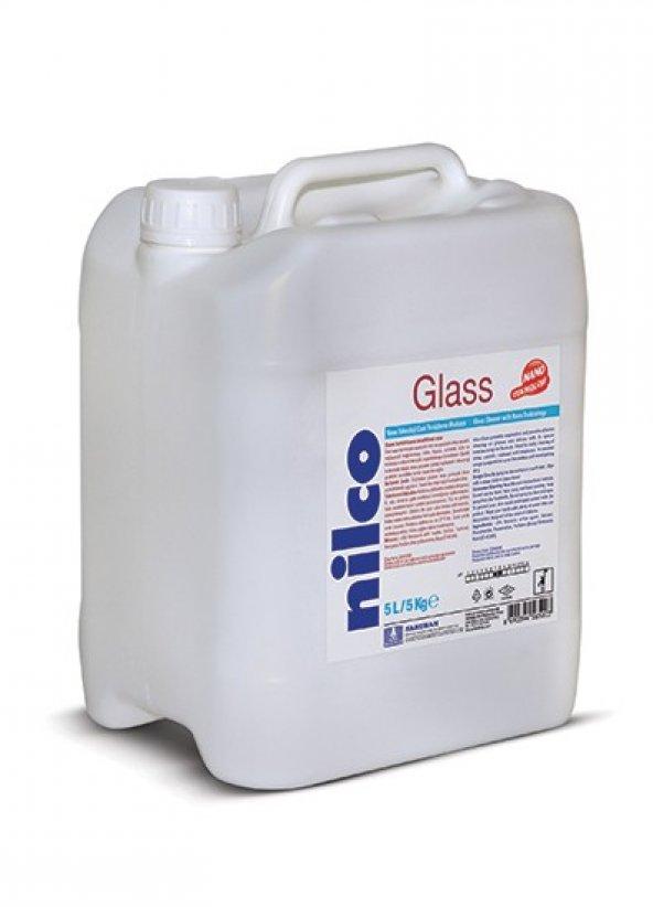 Cam Temizleme Maddesi Nilco Glass 20 Lt / NİLCO