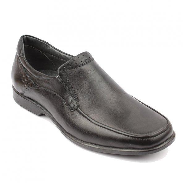 Dinçler Comfort Taban Hakiki Deri Erkek Siyah Ayakkabı