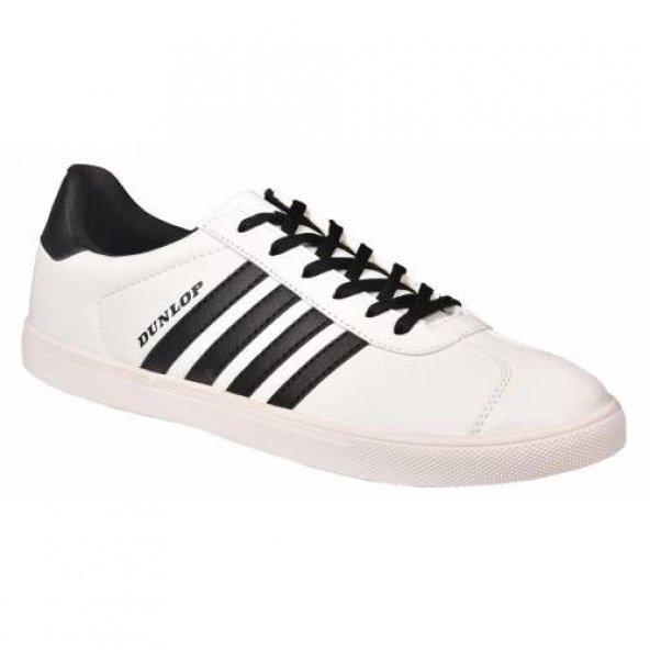 Dunlop 7220538 Beyaz Erkek Günlük,Rahat, Koşu Spor Ayakkabısı