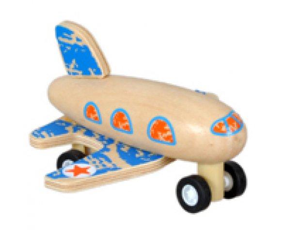 Çek-Bırak Ahşap Uçak