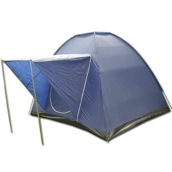 SAVAGE YS-127 4 P Yüksek Koyumavi Dome Çadır+Balkonlu (240*210*18