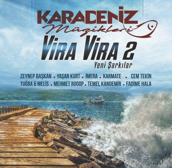 Karadeniz Müzikleri -Vira Vira 2 33lük  Lp Plak ENT