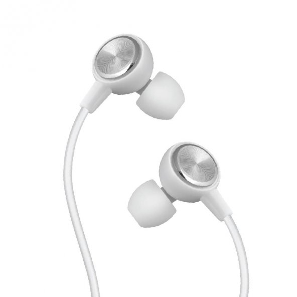 LinkTech Mikrofonlu Stereo Kulaklık (3.5mm Jack) Beyaz LHF-H30