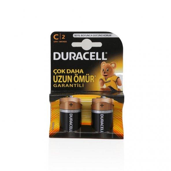 DURACELL C ORTA PİL 2Lİ