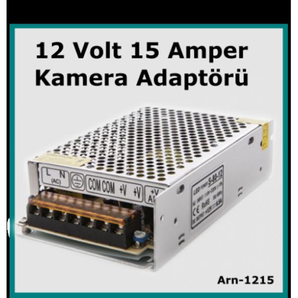 Güvenlik Kamerası Adaptörü 12 Volt 15 Amper