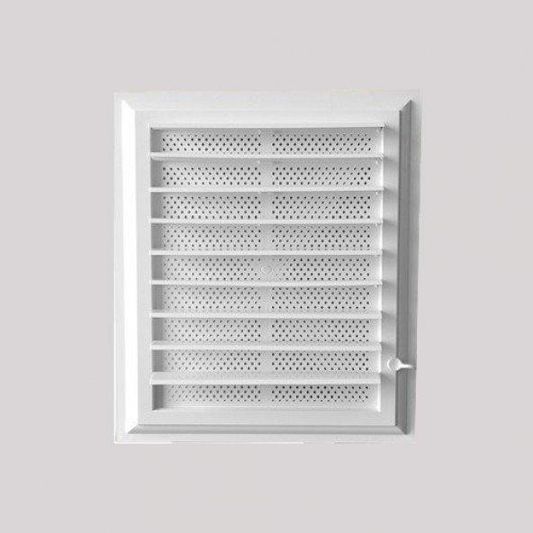 Banyo Wc Plastik Panjurlu Havalandırma Menfezi 45*65