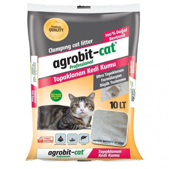 Agrobit Cat Marsilya Sabunu Kokulu Kedi Kumu Doğal Bentonit 10 Lt