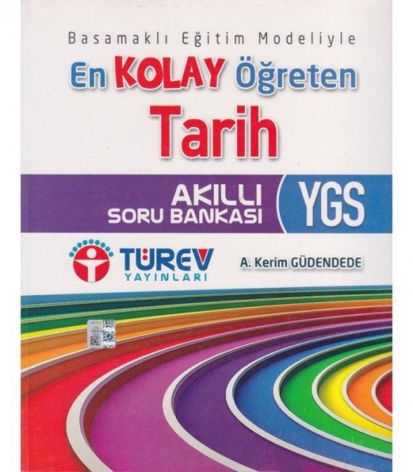 YGS En Kolay Öğreten Tarih Akıllı Soru Bankası Türev Yayınları - türev
