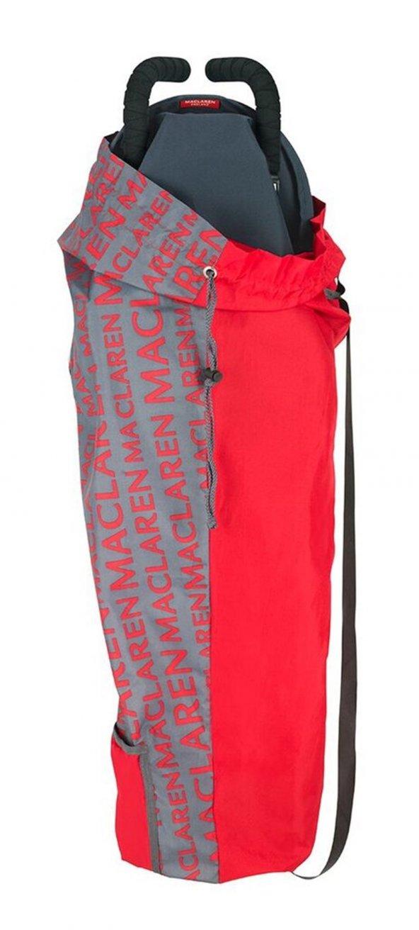 Maclaren Ligtweight Storage Bag Charcoal/ Cardinal