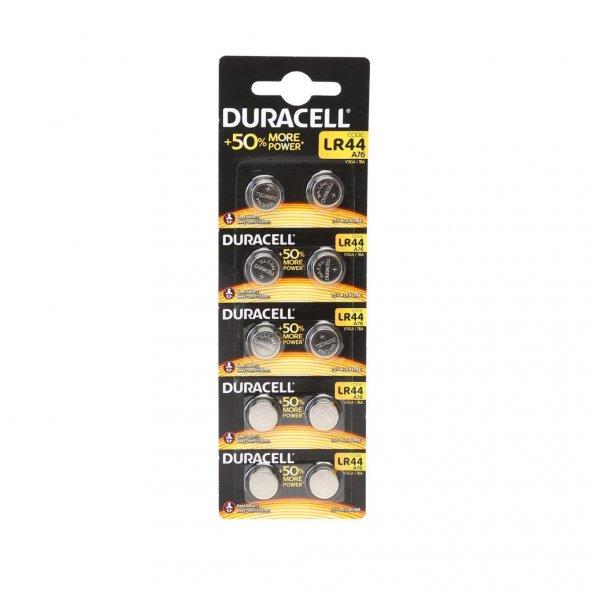 DURACELL LR44/AG13/A76 PİL 10LU