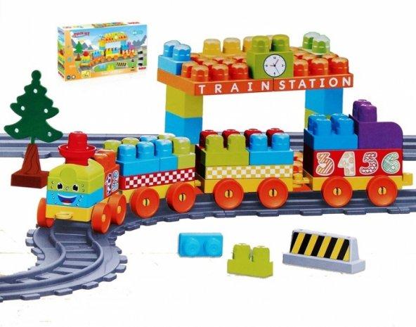 89 Parça Tren ve Yol Set