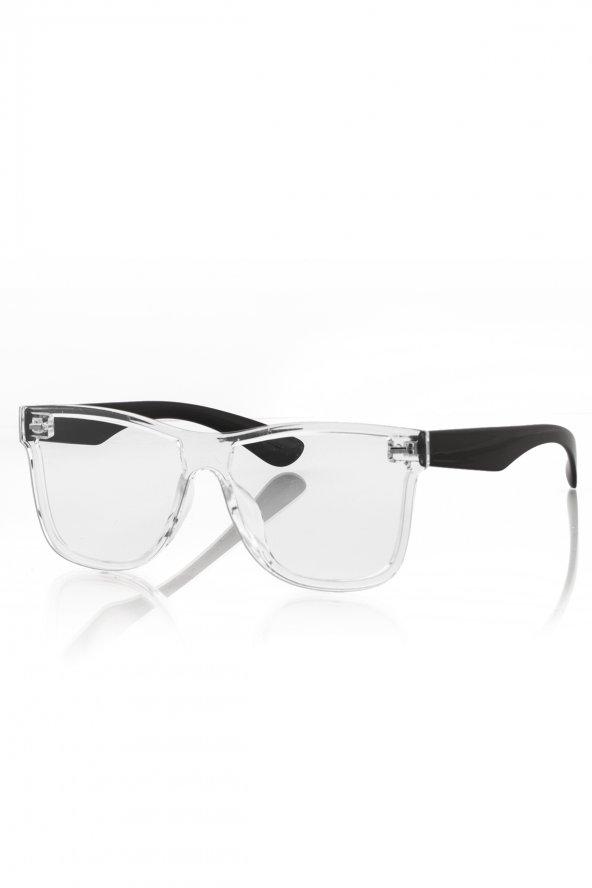 PL19STL01R029 Şeffaf Unisex Güneş Gözlüğü
