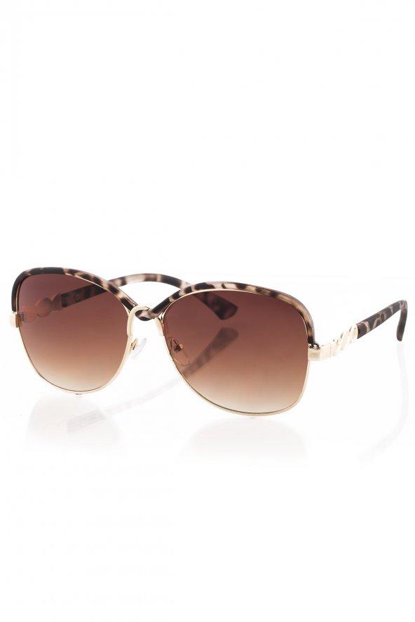 LV106R003 Kahverengi Kadın Güneş Gözlüğü