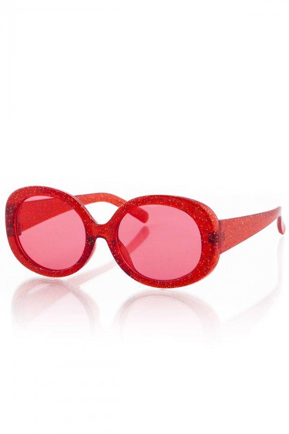 PK19G044R002 Kırmızı Çocuk Güneş Gözlüğü
