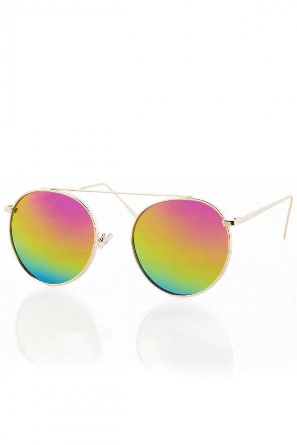 PL19AG07R006 Renkli Kadın Güneş Gözlüğü