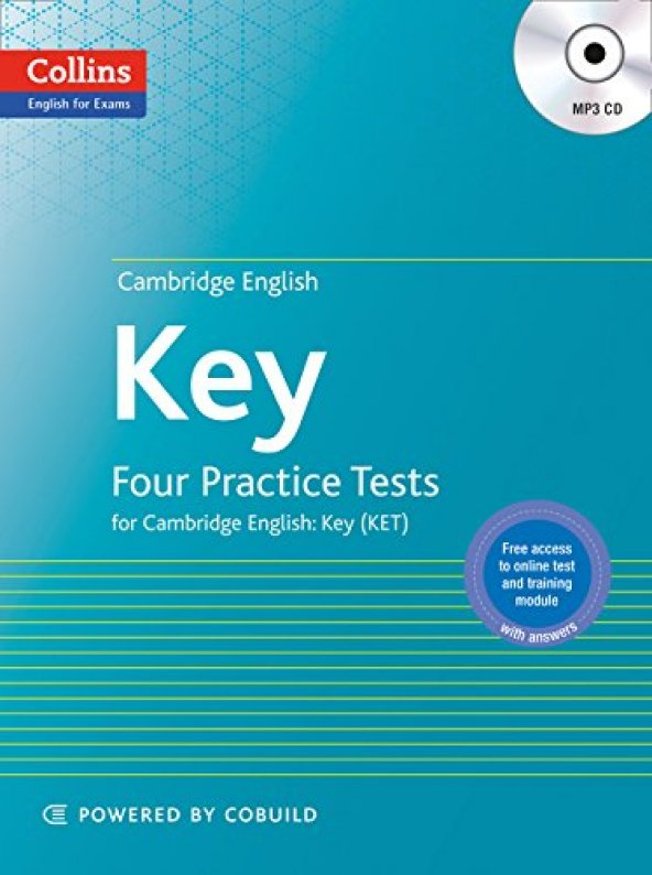 Cambridge English Key (KET) +MP3 CD (4 practice tests)