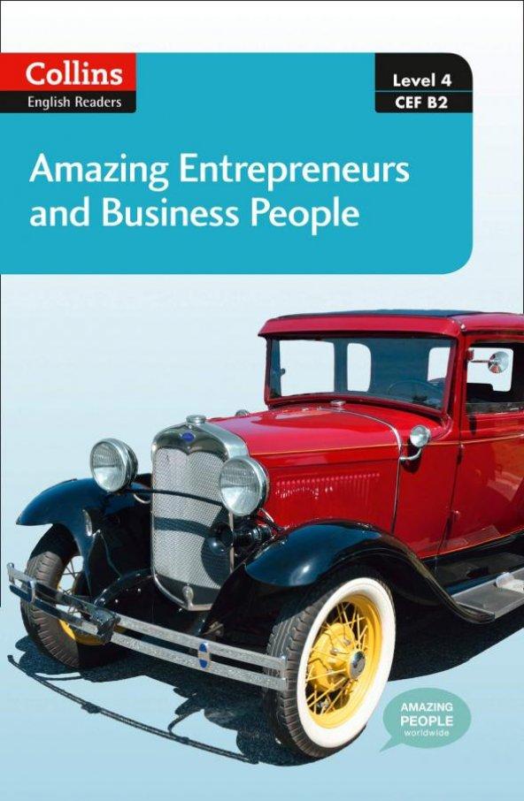 Amazing Entrepreneurs & Business People +CD (A.People Readers 4) B2