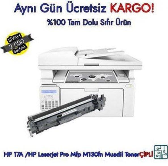 HP Laserjet Pro MFP M130fn Muadil Toner HP CF217A   HP 17A Toner