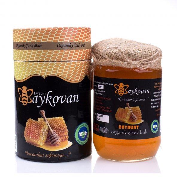 Bayburt Baykovan 1kg Organik Çiçek Balı Sertifikalı