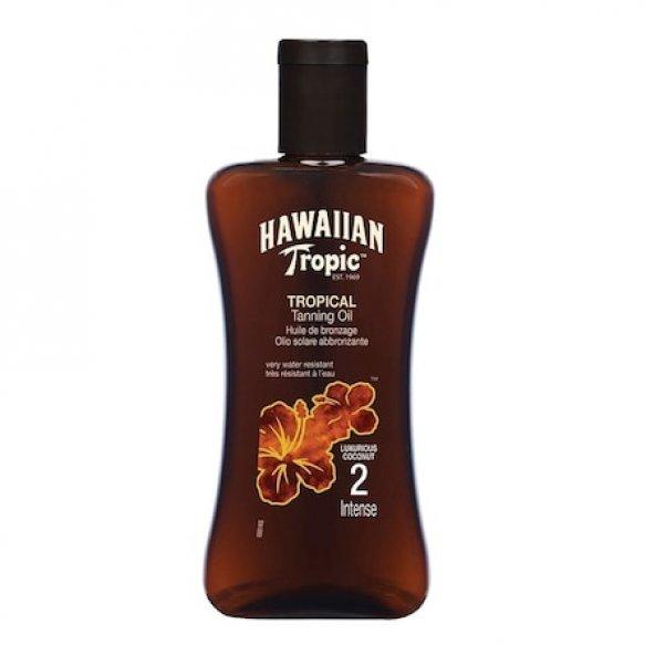 Hawaiian Tropic Koruyucu & Bronzlaştırıcı Yağ Spf 2 200 ml