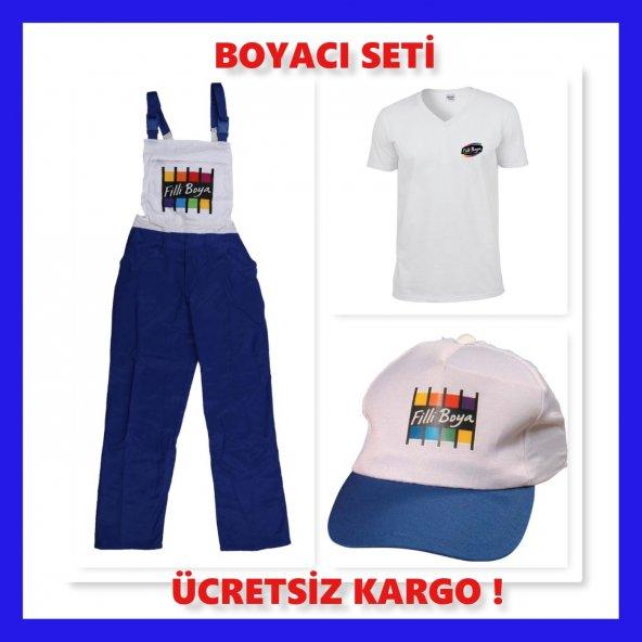 BOYACI SETİ XL BEDEN (56-58)TULUM-TİŞÖRT-ŞAPKA BİR ARADA 1.KALİTE
