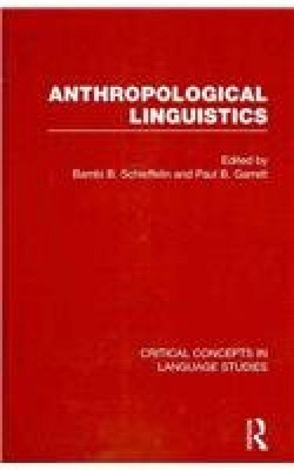 Anthropological Linguistics (5 Volumes)