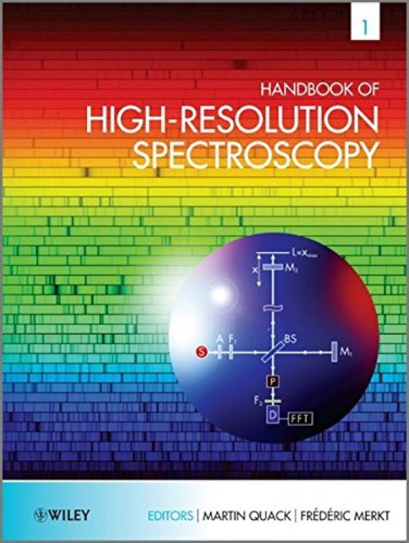 Handbook Of High-Resolution Spectroscopy (3 Volumes)
