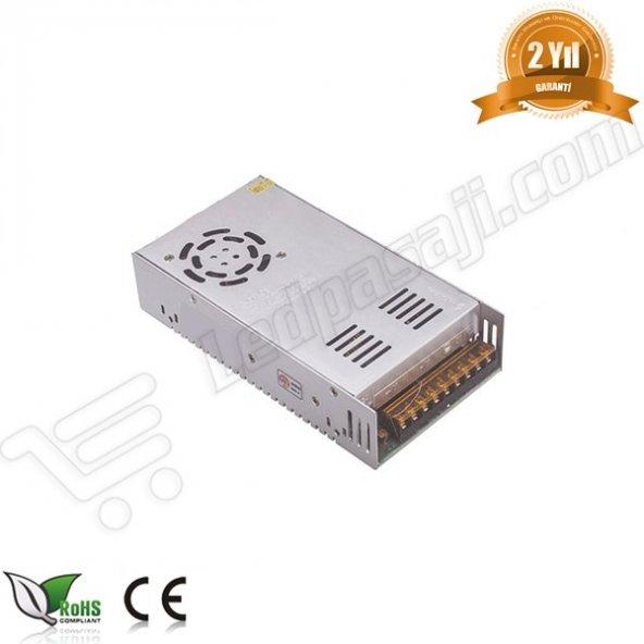 40A - 12V Slim Şerit Led Güç Kaynağı (Trafo)