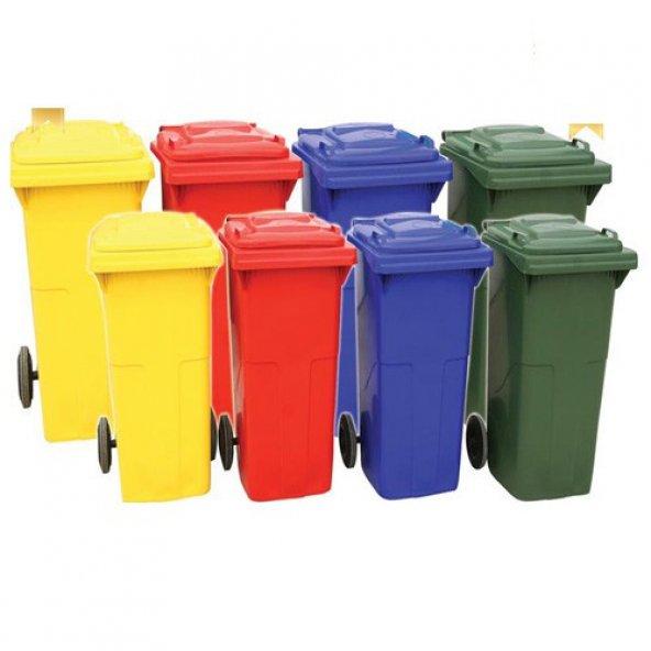 80 Litre Plastik Çöp Konteyneri