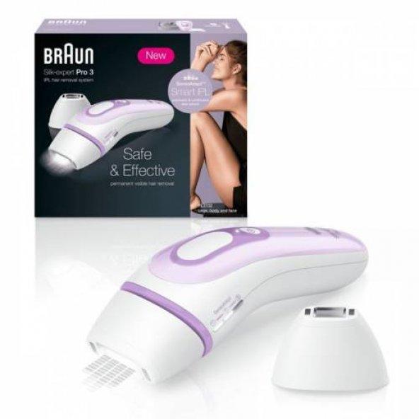 Braun PL3111 Silk-uzman Pro 3, Darbeli Işık Epilatör, Epilasyon Aleti YENİ MODEL