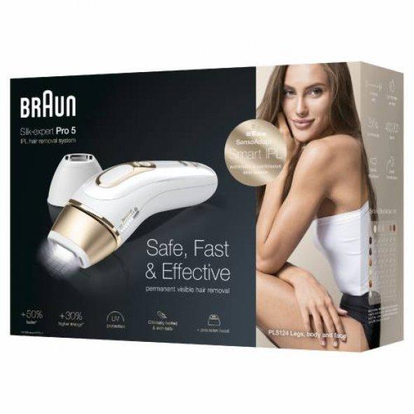 Braun Silk·Expert Pro5 PL5124 Lazer Epilasyon 400.000 Atım