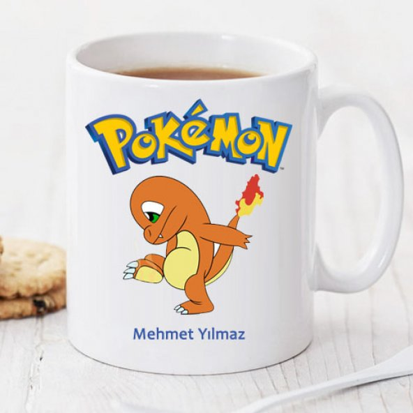 Pokemon Charmander Kişiye Özel Kupa Pi116