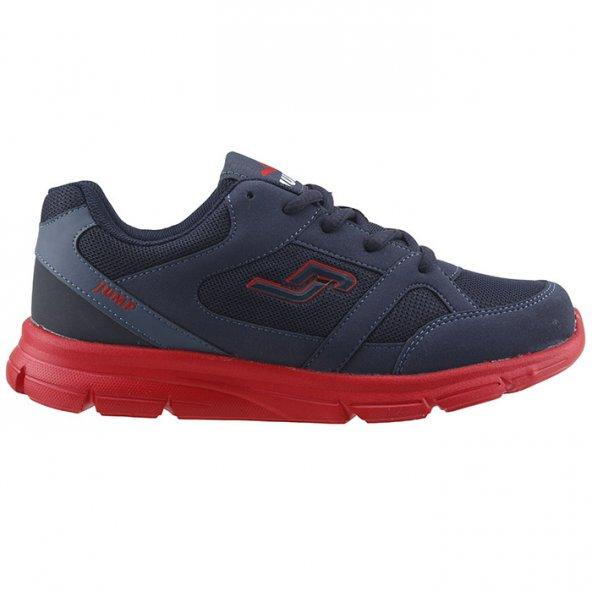 Jump 14288 Günlük Yürüyüş Koşu Erkek Çocuk Spor Ayakkabı LACİVERT-KIRMIZI