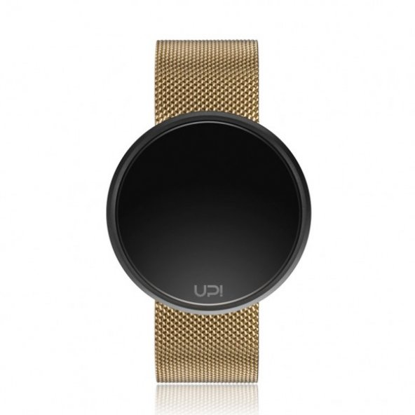 ROUND STEEL BLACK&GOLD TWO TONE