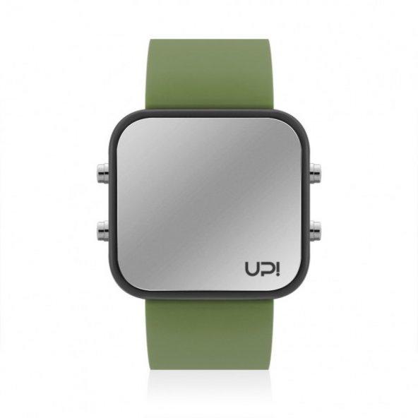 UPWATCH LED BLACK&GREEN