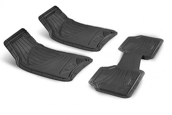 Ford Courier 2014 Sonrası Uyumlu Siyah Paspas Seti