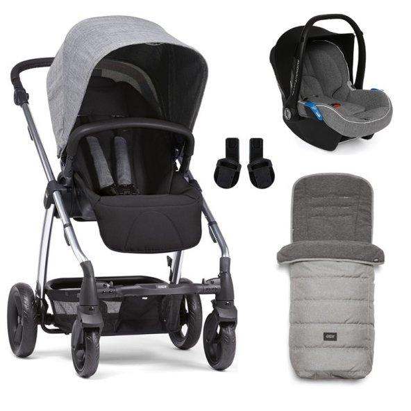 Mamas Papas Sola 2 Winter Set Bebek Arabası Grey Marl